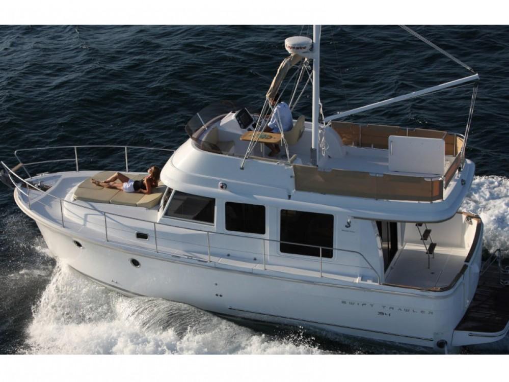 Boat rental Grad Zadar cheap Swift Trawler 34 Fly