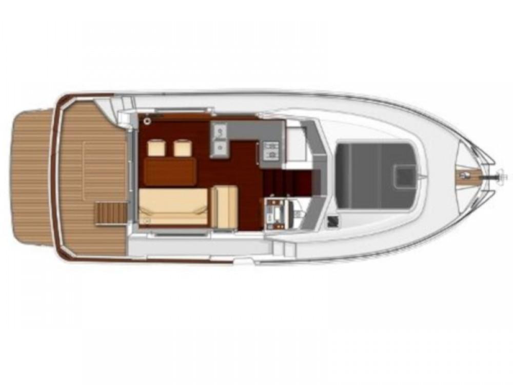 Rent a Bénéteau Swift Trawler 34 Fly Grad Zadar