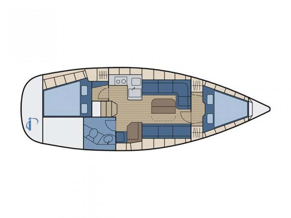 Boat rental Bavaria Bavaria 34 Cruiser in Grad Zadar on Samboat