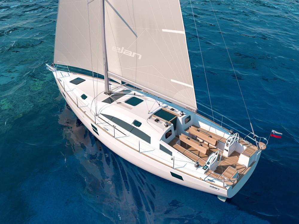 Boat rental Elan Elan Impression 45.1 - GEN + AC in Grad Zadar on Samboat