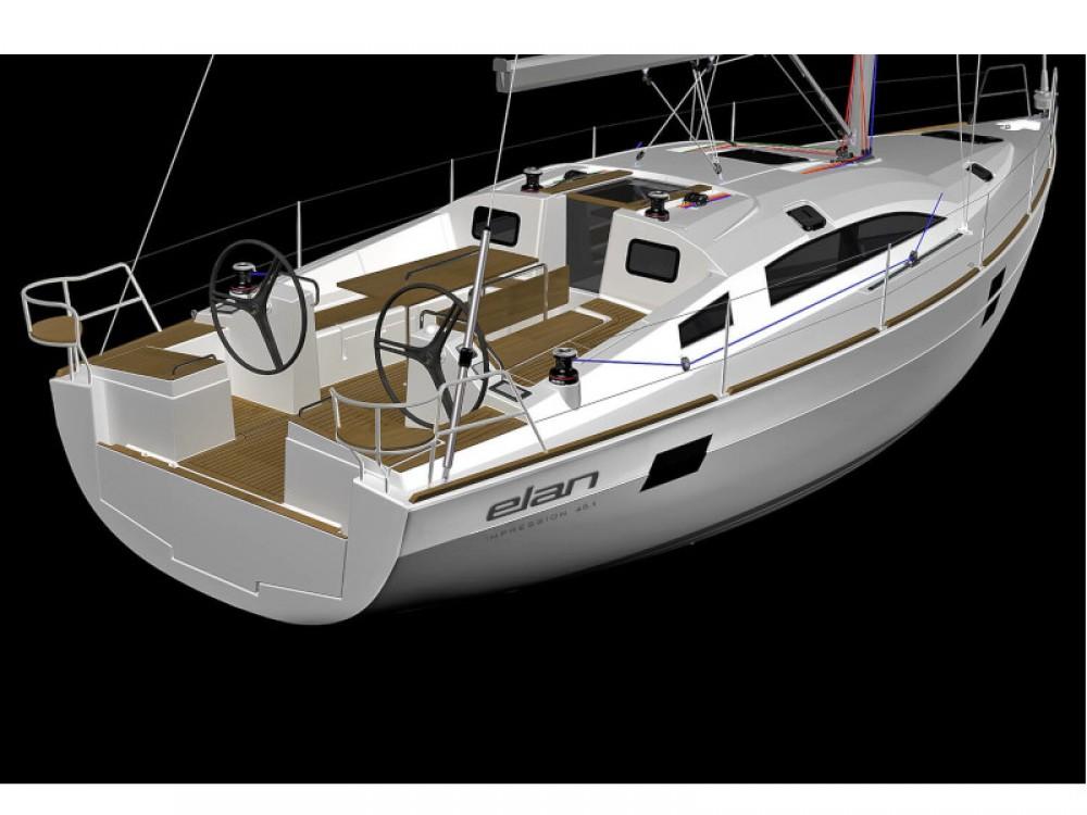 Rental yacht Grad Zadar - Elan Elan Impression 45.1 - GEN + AC on SamBoat