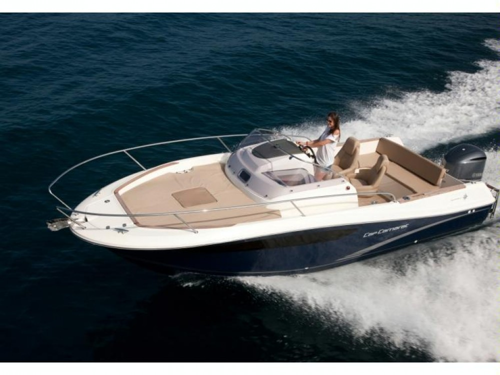 Hire Motor boat with or without skipper Jeanneau Sant Antoni de Portmany