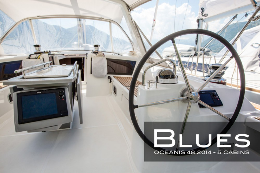 Bénéteau Oceanis 48 (5 cabins) between personal and professional