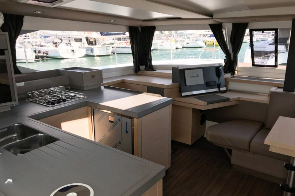 Fountaine Pajot Astrea 42 between personal and professional Slano