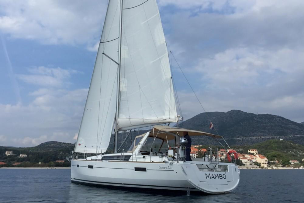 Boat rental Slano cheap Oceanis 45 (4 cabs)