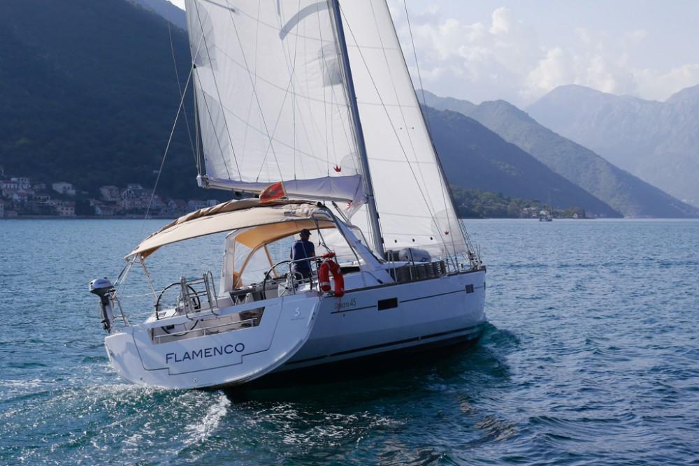 Rental Sailboat in Tivat - Bénéteau Oceanis 45 (4 cabs)