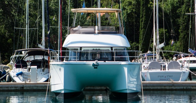 Fountaine Pajot My 37 between personal and professional Punat
