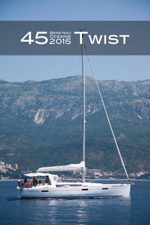 Sailboat for rent Tivat at the best price