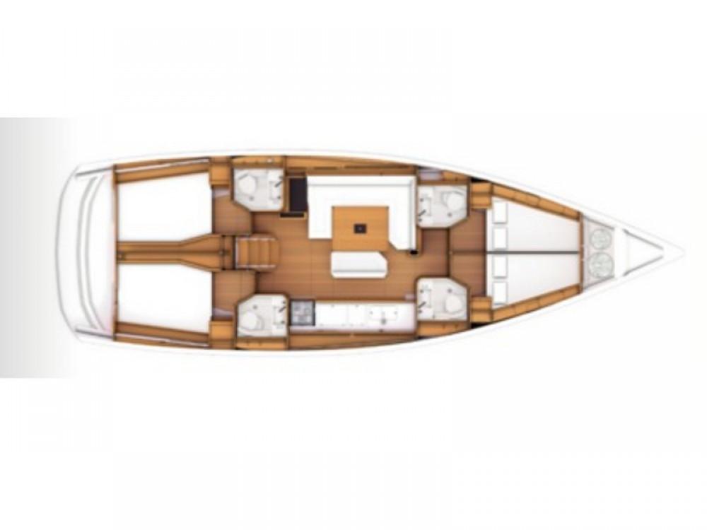 Boat rental Jeanneau Sun Odyssey 479 in Kaštel Gomilica on Samboat