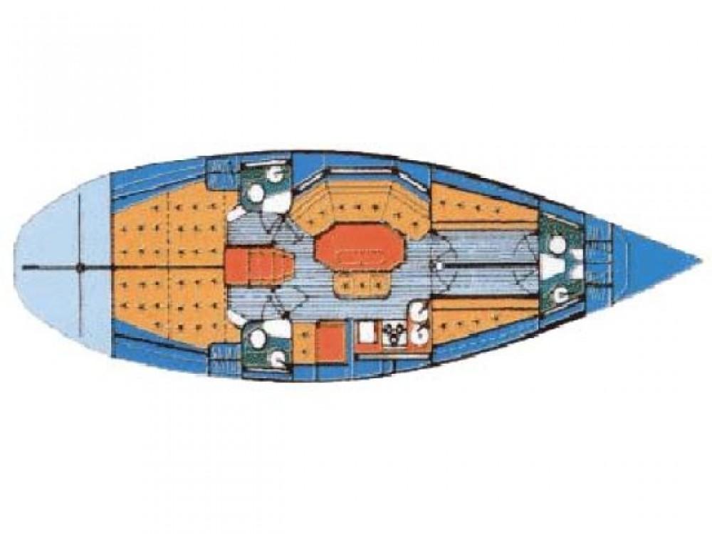 Rental Sailboat in Kaštel Gomilica - Elan Elan 431