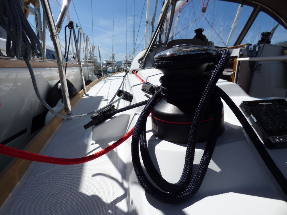 Boat rental Jeanneau Sun Odyssey 389 in Marina Kaštela on Samboat
