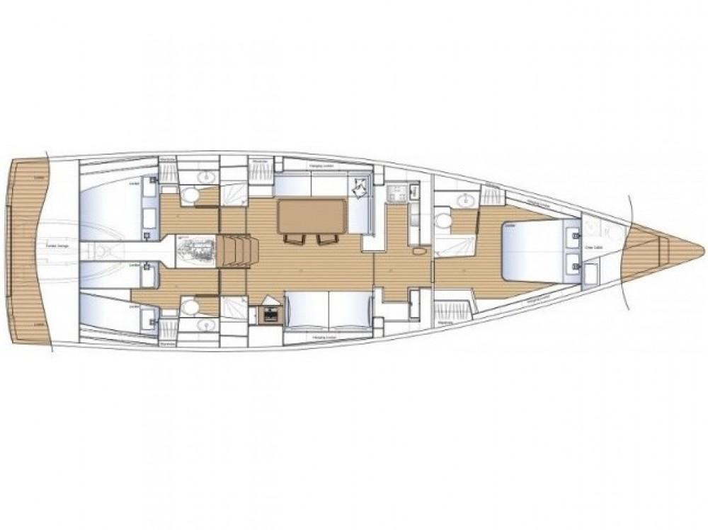 Boat rental ACI Marina Split cheap Solaris 58