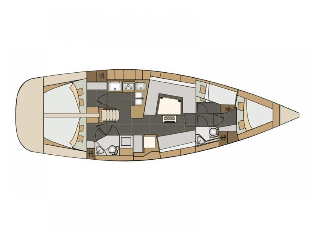Rental Sailboat in Spalato - Elan Elan 45 impression