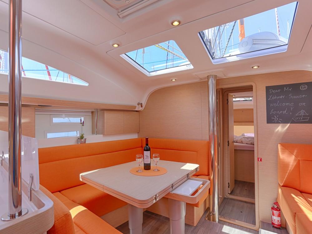 Boat rental Spalato cheap Elan 45 impression