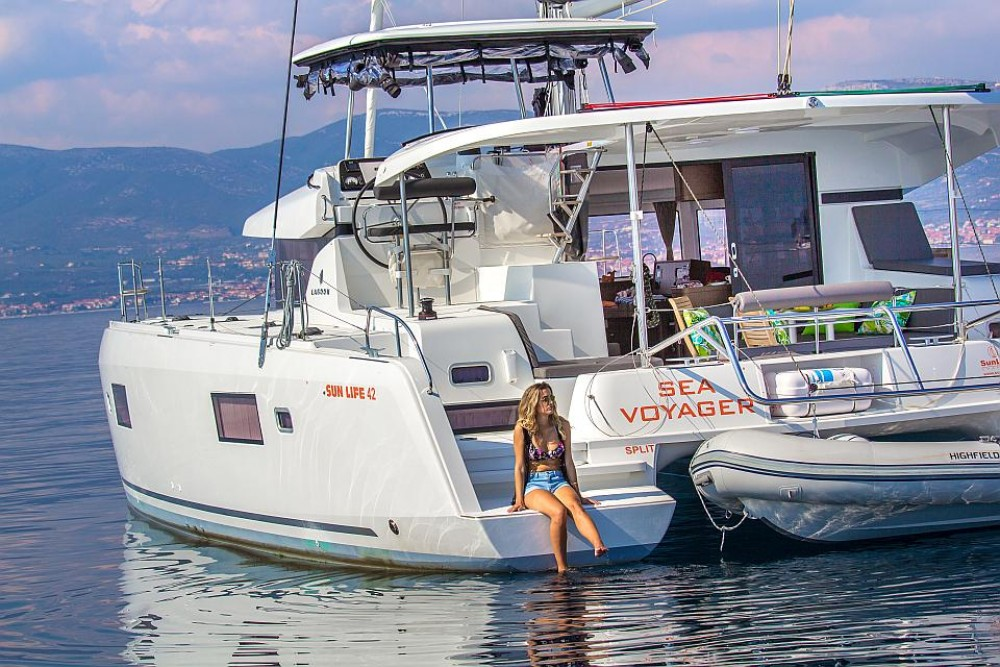 Rental Catamaran in Split - Lagoon Lagoon 42
