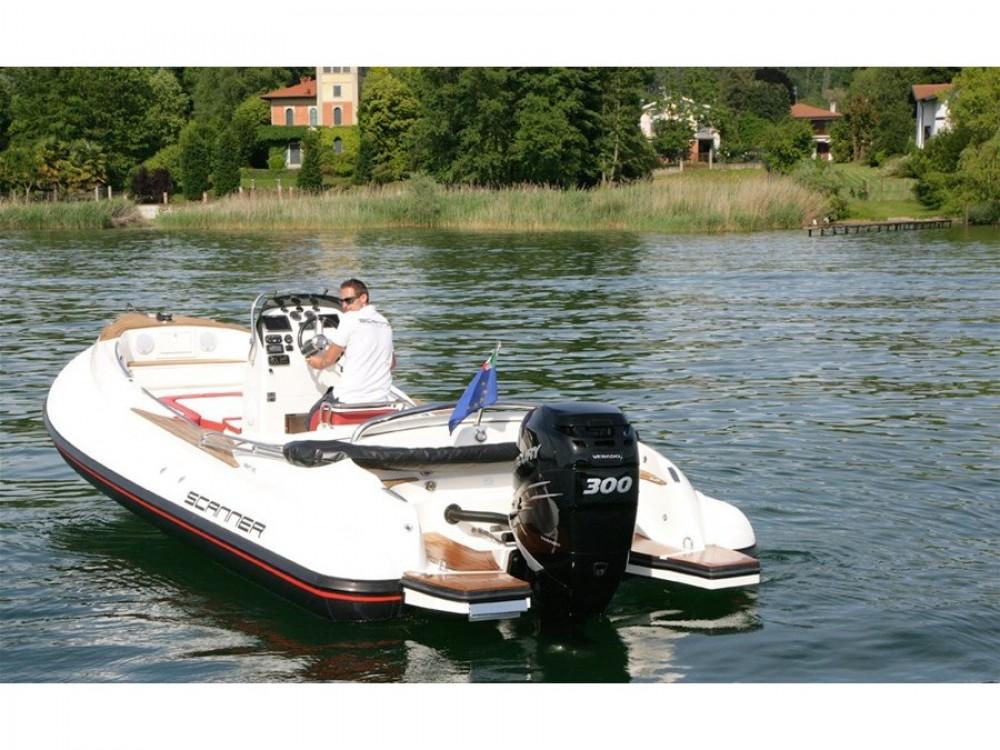 Boat rental  Scanner 710  in Podstrana on Samboat