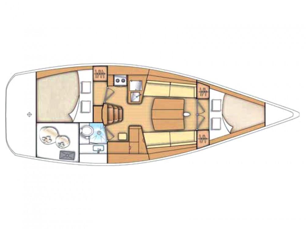 Rental Sailboat in Olbia - Bénéteau First 35