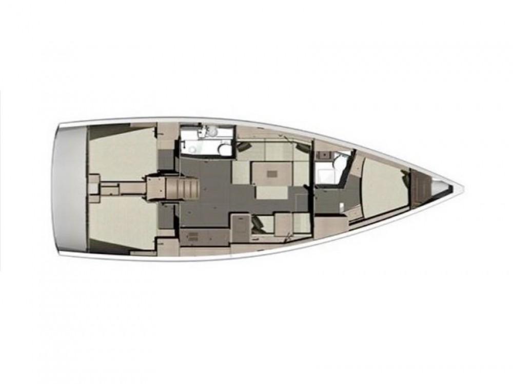 Rental Sailboat in Olbia - Dufour Dufour 412 GL