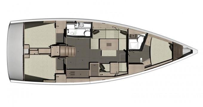 Rental Sailboat in Marina di Portisco - Dufour Dufour 412 Grand Large