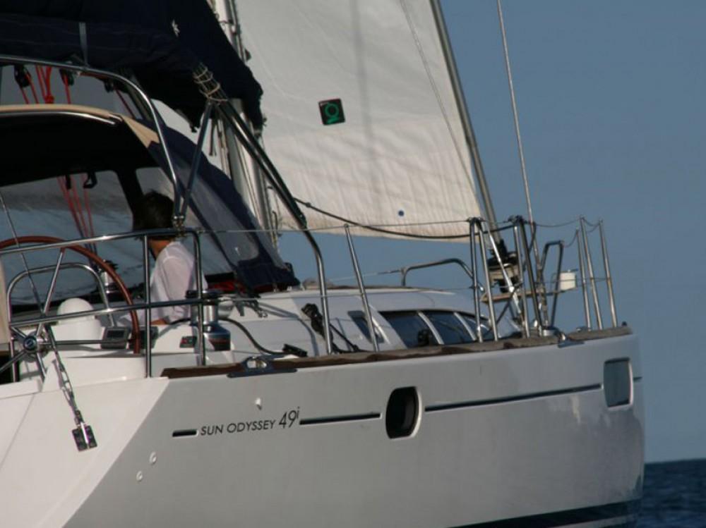 Rental Sailboat in Olbia - Jeanneau Sun Odyssey 49i