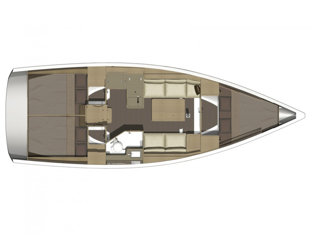 Rental yacht  - Dufour Dufour 350 GL on SamBoat