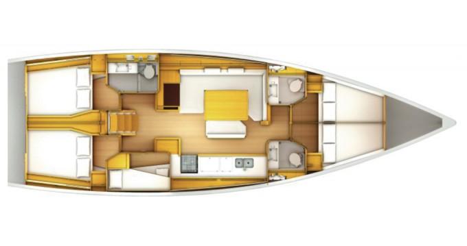 Rental yacht Marina di Portisco - Jeanneau Sun Odyssey 509 on SamBoat