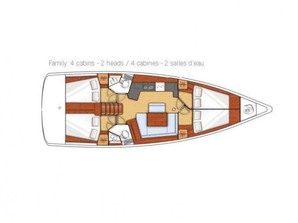Rental Sailboat in Alimos Marina - Bénéteau Oceanis 45