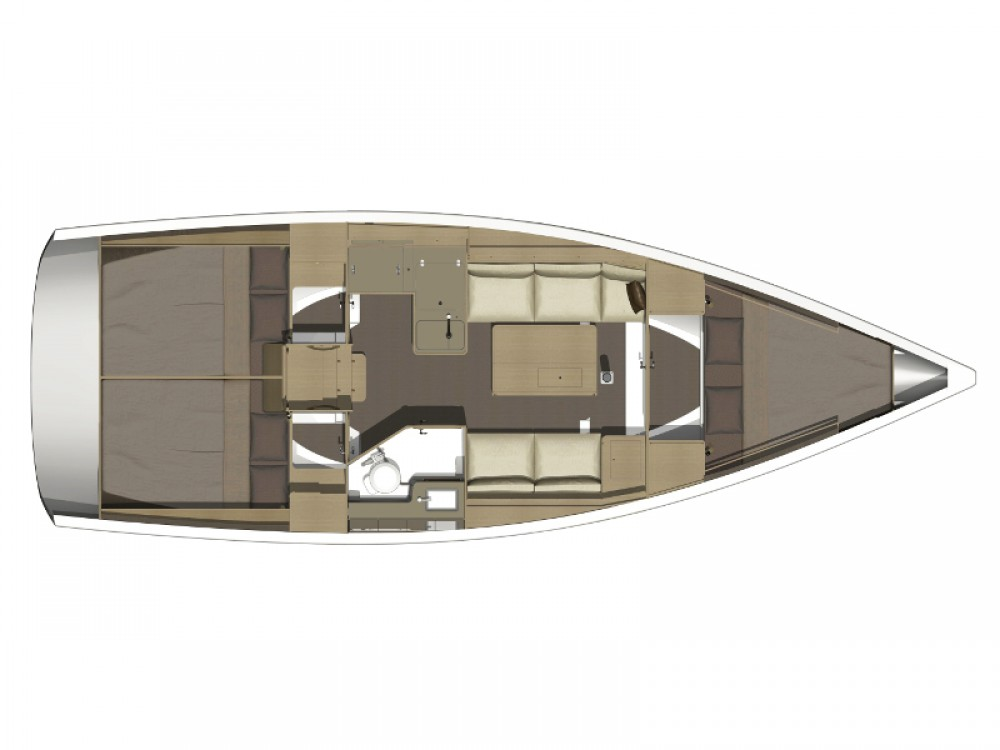 Dufour Dufour 350 GL between personal and professional Olbia