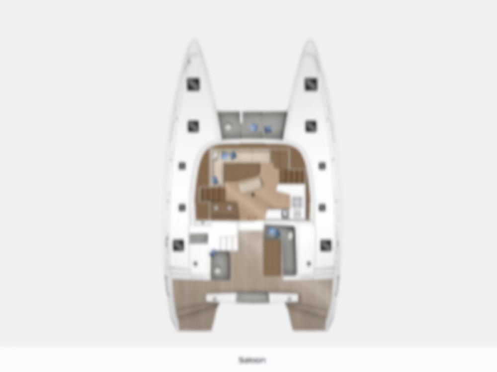 Rental yacht Marina di Portisco - Lagoon Lagoon 42 on SamBoat
