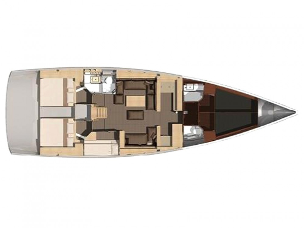 Boat rental Dufour Dufour 512 Grand Large in Olbia on Samboat