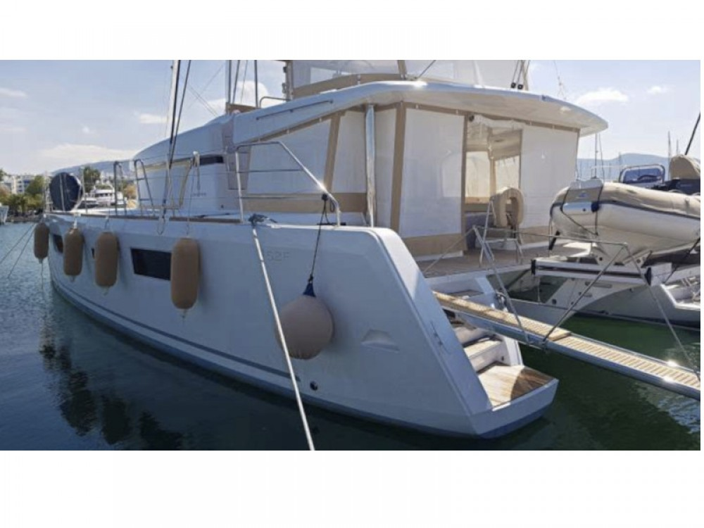 Boat rental Alimos Marina cheap Lagoon 52 - 5 cabin version