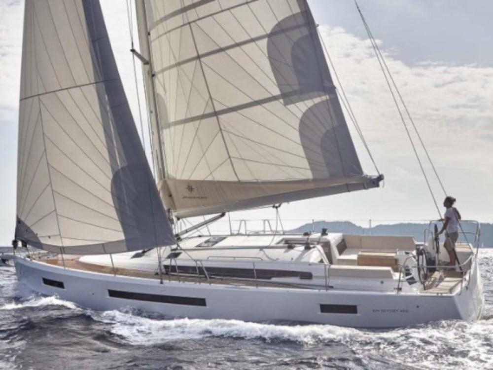 Boat rental Olbia cheap Sun Odyssey 490