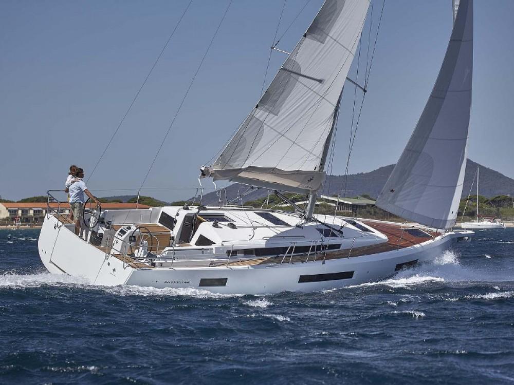Boat rental Olbia cheap Sun Odyssey 440