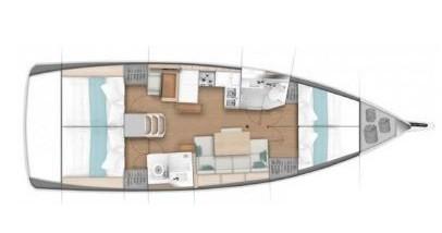 Boat rental Marina di Portisco cheap Sun Odyssey 440