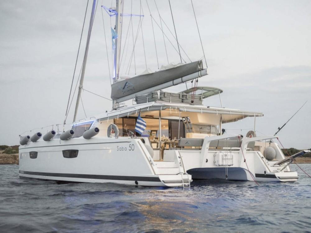 Rent a Fountaine Pajot Saba 50 -  5 cabin version Alimos Marina