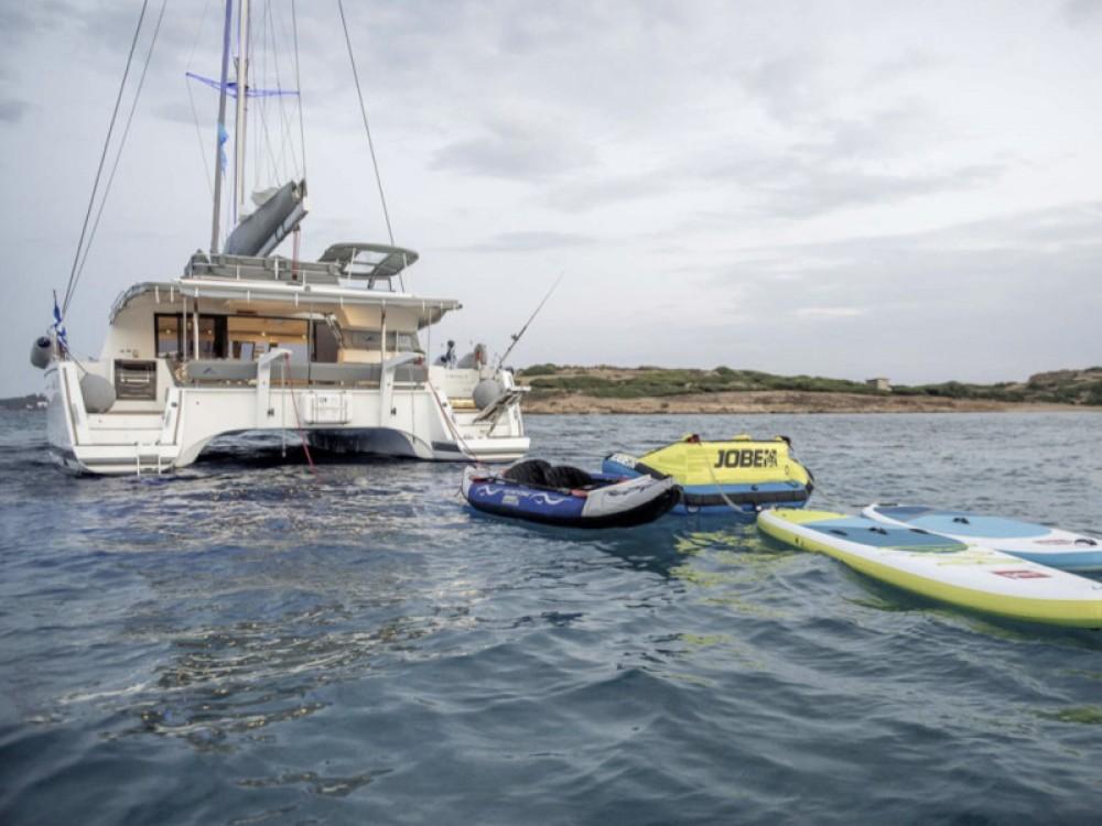 Rental yacht Alimos Marina - Fountaine Pajot Saba 50 -  5 cabin version on SamBoat