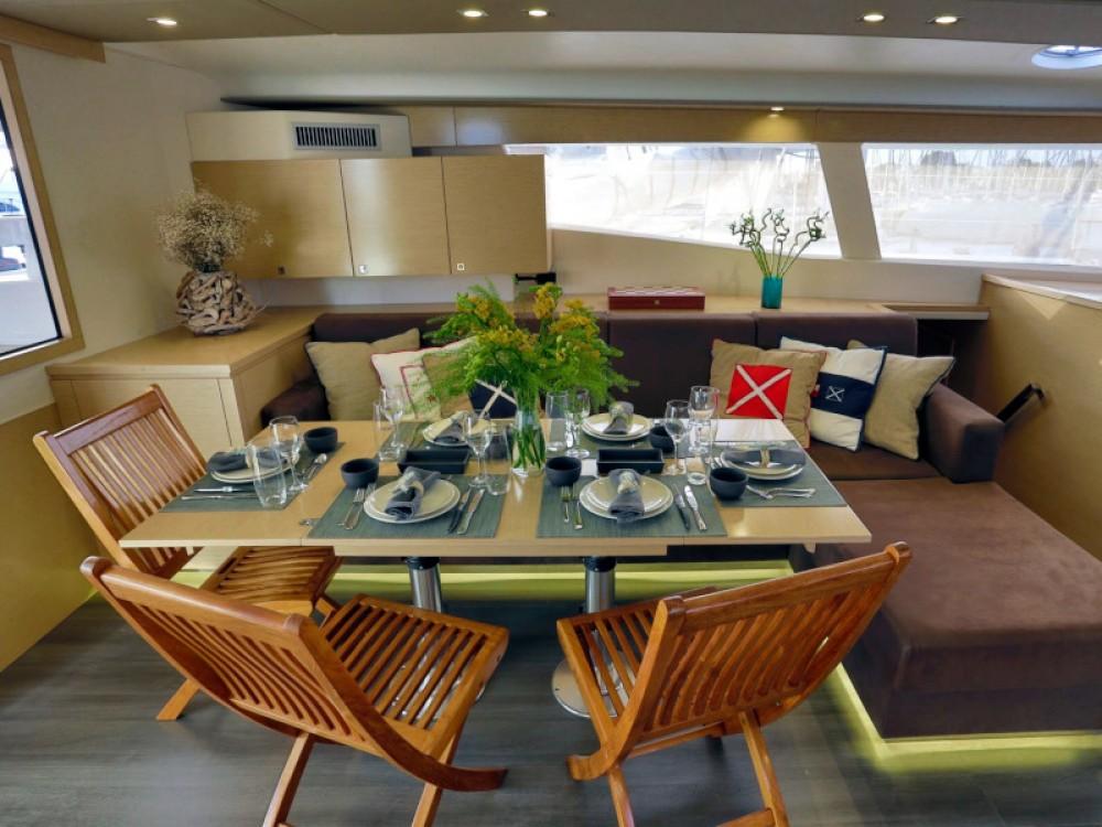 Rental Catamaran in Alimos Marina - Fountaine Pajot Sanya 57 - 4 cabin version