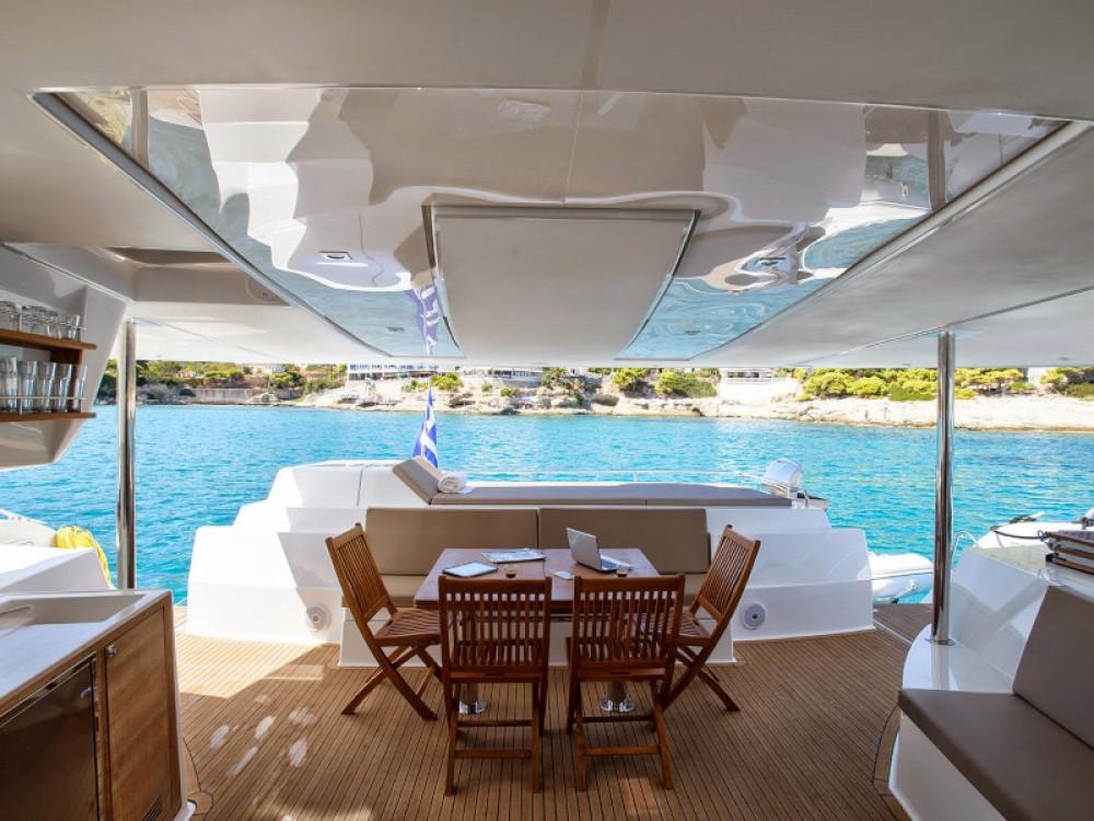Rental yacht Alimos Marina - Fountaine Pajot Sanya 57 - 4 cabin version on SamBoat