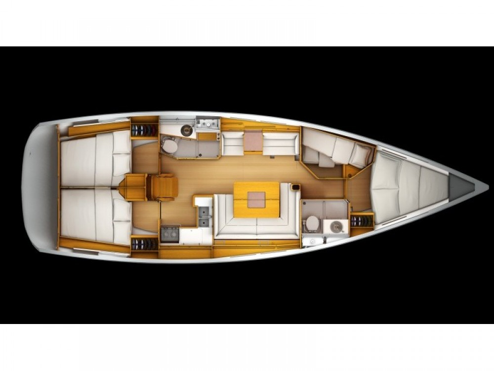 Hire Sailboat with or without skipper Jeanneau Βόλος