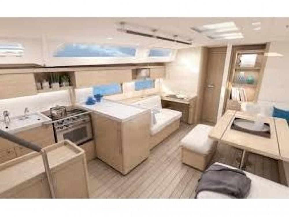 Boat rental Bénéteau Oceanis 46.1 - 5 cabin version in Préveza on Samboat