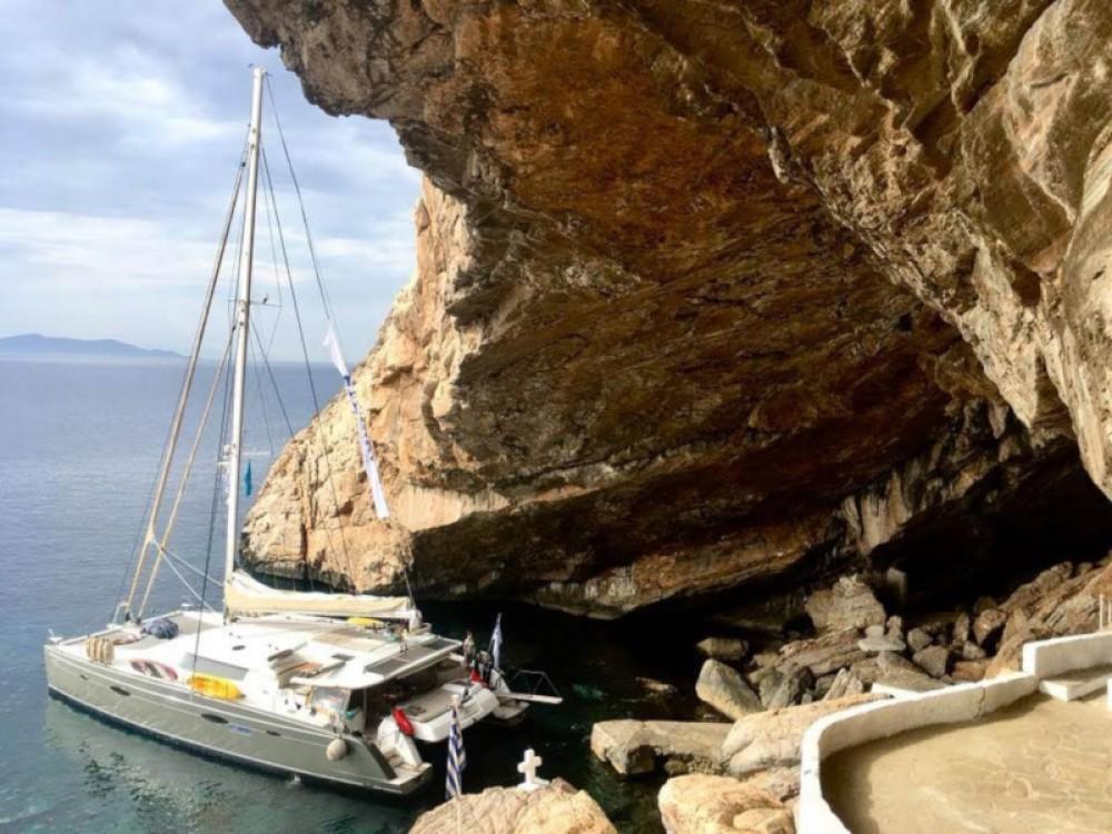 Rental yacht Alimos Marina - Fountaine Pajot Galathea 65 on SamBoat