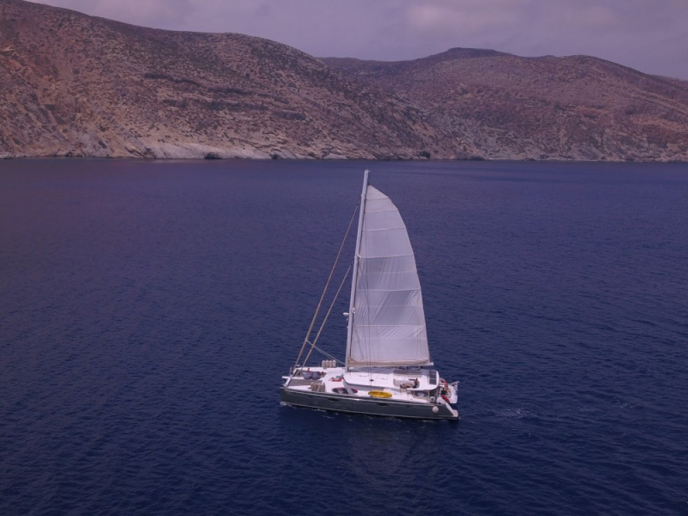Fountaine Pajot Galathea 65 between personal and professional Alimos Marina