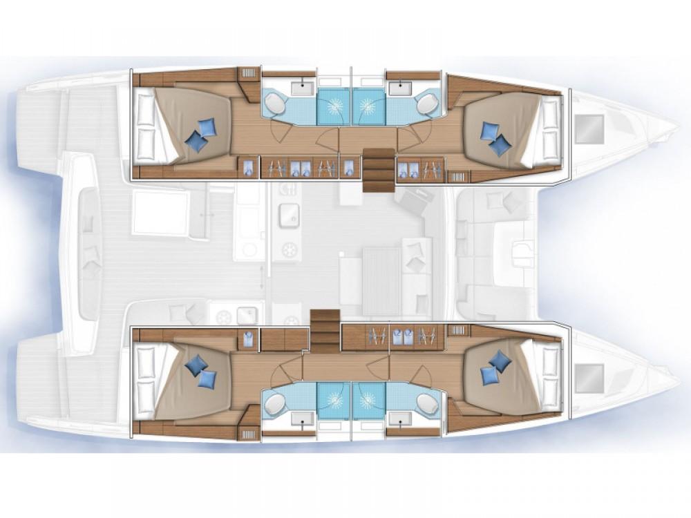 Rental yacht Kos - Lagoon Lagoon 46 on SamBoat