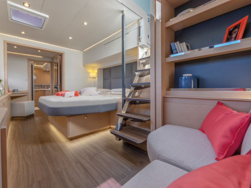 Fountaine Pajot Alegria 67 between personal and professional Alimos Marina