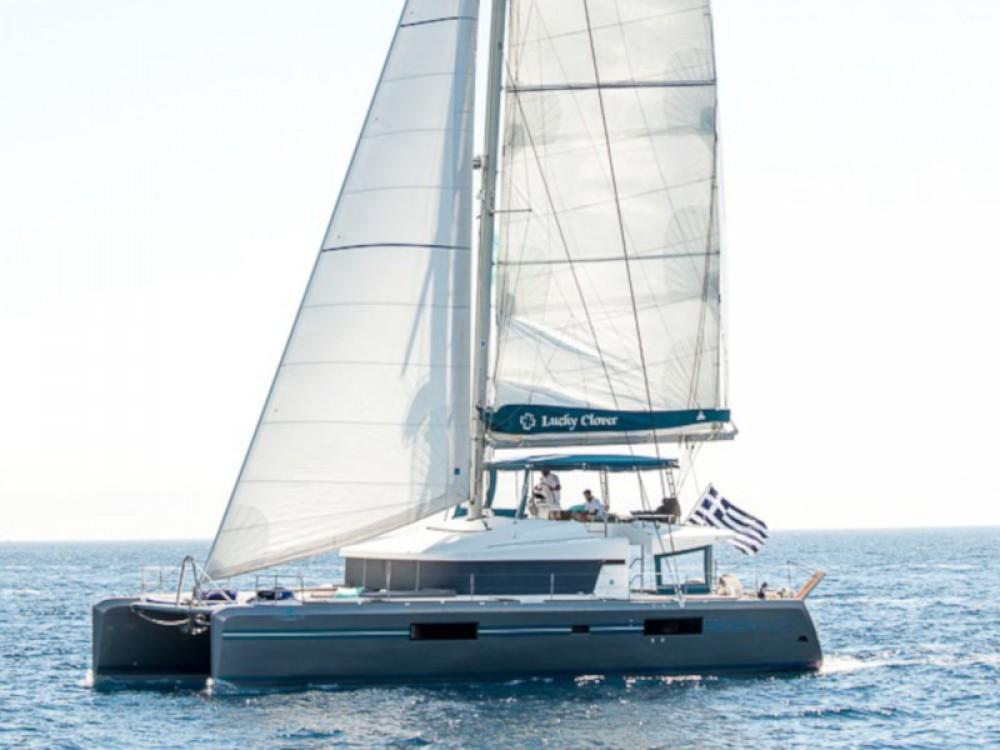 Rent a Lagoon Lagoon 52 - 6 cabin verison Alimos Marina