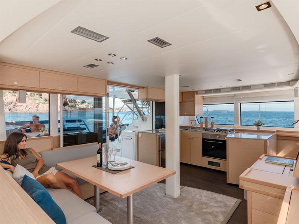 Boat rental Alimos Marina cheap Lagoon 52 - 6 cabin verison