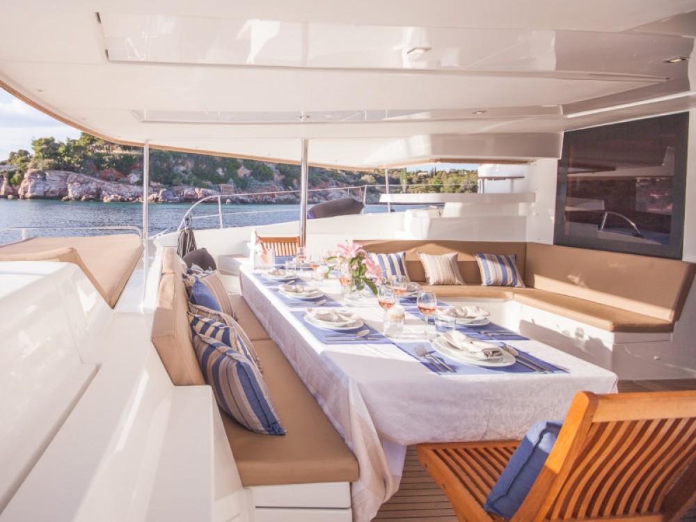 Rental Catamaran in Alimos Marina - Fountaine Pajot Sanya 57 - 5 cabi version