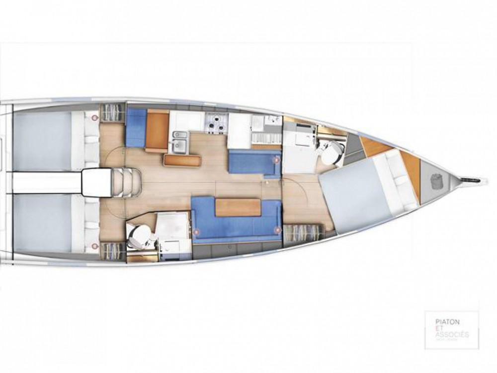 Boat rental Jeanneau Sun Odyssey 410 in  on Samboat