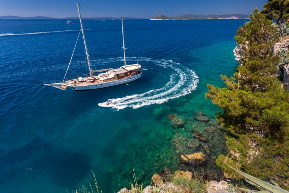 Cruisers Gulet between personal and professional Split