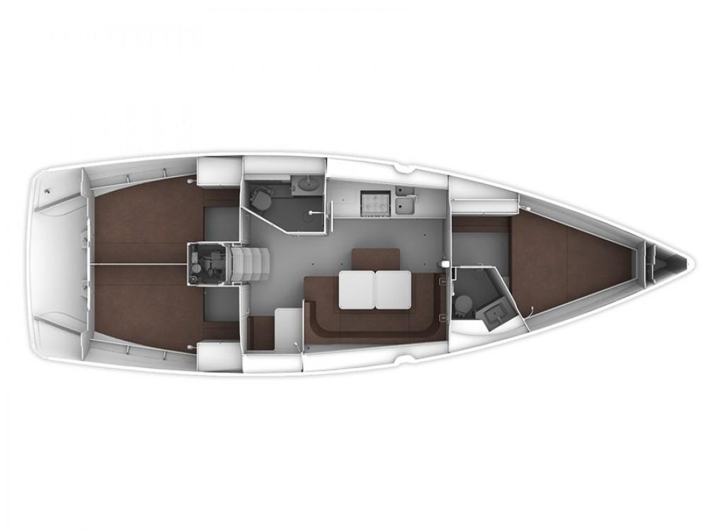 Rental yacht Sukošan - Bavaria Bavaria Cruiser 41 on SamBoat